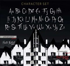 Heath Notted Font Free Download