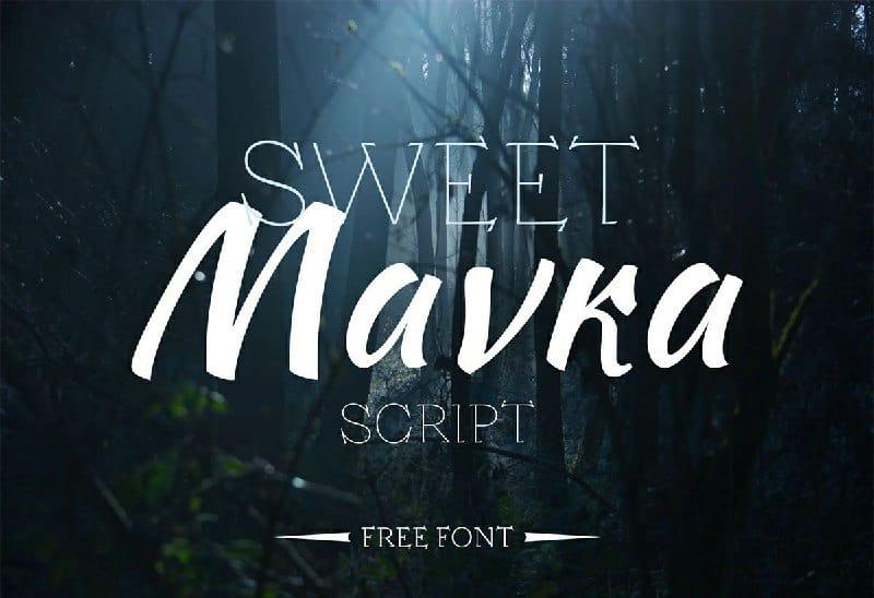 Sweet Mavka Font Free Download