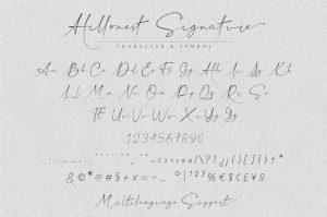 Hillonest Font Free Download