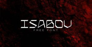Isabov Font Free Download