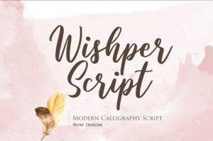 Wishper Font Free Download