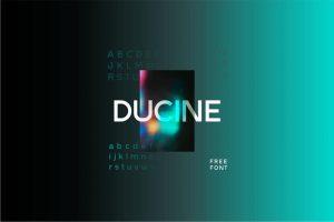 Ducine Font Free Download