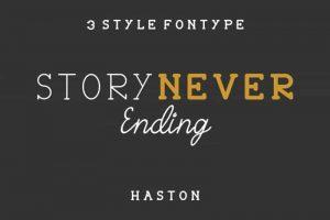Haston Font Free Download