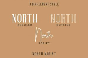 North Mount Font Free Download