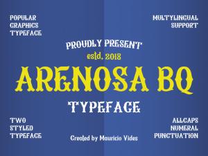 Arenosa BQ Font Free Download