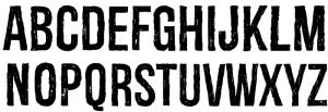 Redgar Font Free Download