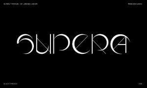 SUPERA Font Free Download
