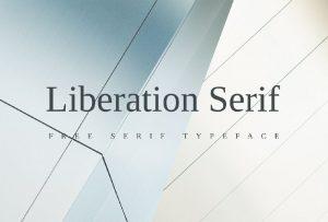 Liberation serif Font Free Download