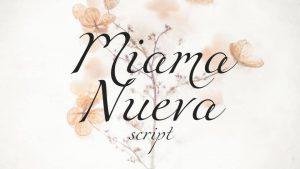 Miama Font Free Download