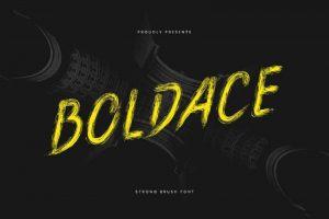 Boldace Font Free Download