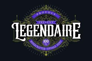 Legendarie Font Free Download