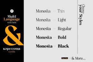 Monesta Font Free Download