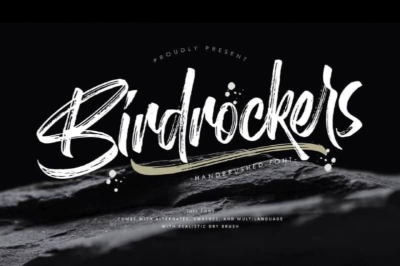 Birdrockers Font Free Download