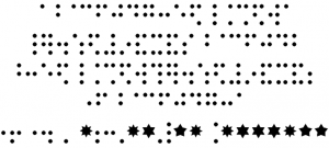 CHMC Braille Font Free Download