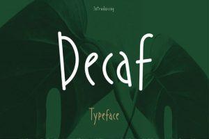 Decaf Font Free Download