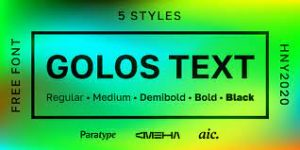 Golos Text Font Free Download