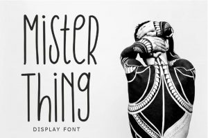 Mister Thing Font Free Download