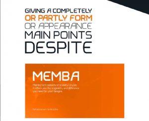 Memba Font Free Download