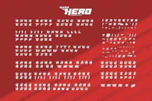 Masked Hero Font Free Download