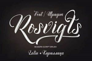Rosvigts Font Free Download