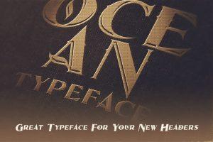 Ocean Inline Font Free Download