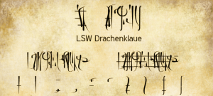 LSW Drachenklaue Font Free Download