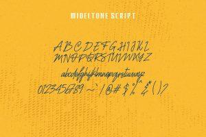 Mideltone Font Free Download
