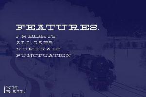 NH Rail Font Free Download