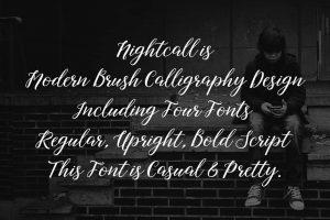Nightcall Font Free Download