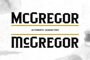 Pittsbrook Font Free Download