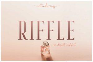 Riffle Font Free Download
