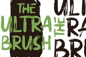 The Ultra Brush Font Free Download