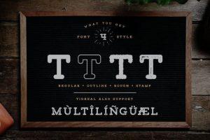 Tigreal Font Free Download