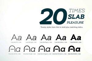 Umba Slab Font Free Download