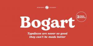 Bogart Font Free Download